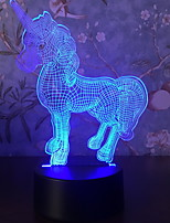 Недорогие -1шт LED Night Light Для детей / Творчество 5 V