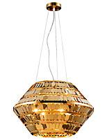 abordables -ZHISHU 4 lumières Géométrique / Nouveauté Lampe suspendue Lumière d'ambiance Plaqué Métal Style mini, Créatif 110-120V / 220-240V