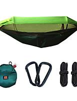 Недорогие -Туристический гамак с москитной сеткой На открытом воздухе Легкость, Быстровысыхающий, Воздухопроницаемость Нейлон, Сетчатый материал для 1 человек Рыбалка / Походы -