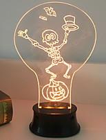 Недорогие -1шт LED Night Light Оранжевый Творчество <=36 V