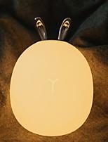Недорогие -1шт LED Night Light Тёплый белый Светодиодный источник питания обожаемый <=36 V