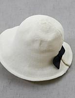 Недорогие -Жен. Шляпа от солнца Полиэстер, Однотонный