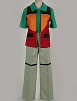 Недорогие -Вдохновлен Косплей Косплей Аниме Косплэй костюмы Косплей Костюмы Разные цвета Жилетка / Кофты / Брюки Назначение Муж. / Жен.