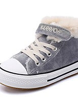 Недорогие -Девочки Обувь Синтетика Зима Удобная обувь Кеды для Дети / Для подростков Серый / Розовый / Темно-зеленый