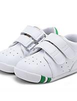 Недорогие -Девочки Обувь Микроволокно Весна & осень Удобная обувь / Обувь для малышей Кеды для Дети Белый / Черный