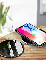 Недорогие -Беспроводное зарядное устройство Зарядное устройство USB USB Беспроводное зарядное устройство / Qi 1 USB порт 2 A DC 5V для iPhone X / iPhone 8 Pluss / iPhone 8