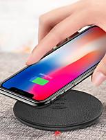 Недорогие -Беспроводное зарядное устройство Зарядное устройство USB USB Беспроводное зарядное устройство / Qi 1 USB порт 2.4 A DC 5V для iPhone X / iPhone 8 Pluss / iPhone 8