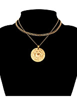 Недорогие -Жен. Мода ожерелья Сплав