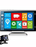 Недорогие -Vasens 1080p Новый дизайн / Двойной объектив / Загрузочная автоматическая запись Автомобильный видеорегистратор 170° Широкий угол 5 дюймовый IPS Капюшон с WIFI / GPS / G-Sensor 4 инфракрасных LED