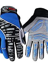 Недорогие -синий велосипед велосипед гель велосипед силиконовые полные длинные пальцы теплые перчатки