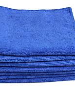 Недорогие -1 шт. Микроволокно Полотенце из микрофибры Прочный Синий