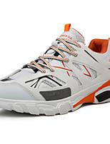 Недорогие -Муж. Комфортная обувь Сетка Весна Кеды Дышащий Белый / Черный / Серый