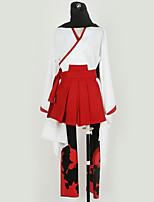 Недорогие -Вдохновлен Ину х Boku SS Косплей Аниме Косплэй костюмы Косплей Костюмы Однотонный Кофты / Юбки / Шарф Назначение Муж. / Жен.