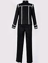 Недорогие -Вдохновлен Косплей Косплей Аниме Косплэй костюмы Школьная форма Однотонный Кофты / Брюки / Костюм Назначение Муж. / Жен.