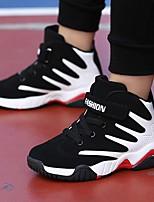 Недорогие -Мальчики Обувь Полиуретан Зима Удобная обувь Спортивная обувь Для баскетбола для Для подростков Красный / Синий / Черно-белый