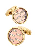 cheap -Cufflinks Fashion Brooch Jewelry Golden For Gift Daily