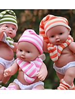 Недорогие -KIDDING Куклы реборн Мальчики Девочки 24 дюймовый Полный силикон для тела Силикон Винил - как живой Ручная Pабота Очаровательный Дети / подростки Детские Универсальные Игрушки Подарок