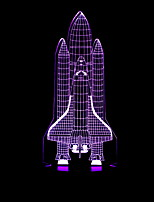 Недорогие -1шт LED Night Light Аккумуляторы AA Творчество / Cool 5 V
