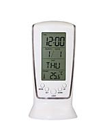 Недорогие -Brelong светодиодный дисплей температуры ночник мини-будильник