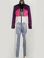 Недорогие -Вдохновлен Gundam Косплей Аниме Косплэй костюмы Косплей Костюмы Пэчворк Кофты / Брюки / Больше аксессуаров Назначение Муж. / Жен.