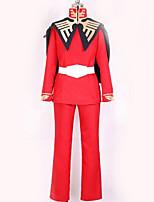 Недорогие -Вдохновлен Gundam Косплей Аниме Косплэй костюмы Косплей Костюмы Однотонный Кофты / Брюки / Перчатки Назначение Муж. / Жен.