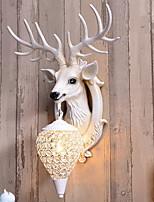 Недорогие -Творчество Ретро / Деревенский Настенные светильники В помещении Смола настенный светильник 220-240Вольт 40 W
