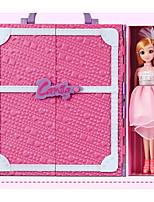 Недорогие -Куклы реборн Кукла для девочек Девочки 16 дюймовый Силикон - Smart как живой Дети / подростки Детские Универсальные Игрушки Подарок