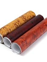 Недорогие -9x60 дюймов птичий глаз текстура древесины текстурированная виниловая пленка наклейка наклейка лист пленки для украшения дома автомобиля
