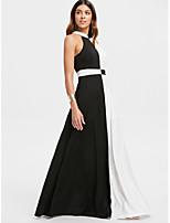 baratos -Mulheres Boho / Elegante Bainha / balanço Vestido Longo