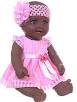 Недорогие -Куклы реборн Кукла для девочек Девочки Африканская кукла 20 дюймовый Силикон - как живой Очаровательный Дети / подростки Детские Универсальные Игрушки Подарок