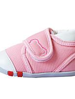 Недорогие -Мальчики / Девочки Обувь Полиуретан Весна & осень Удобная обувь Кеды для Дети Красный / Синий / Розовый