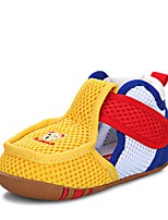 Недорогие -Девочки Обувь Сетка Лето Обувь для малышей Сандалии для Дети Желтый / Синий / Розовый