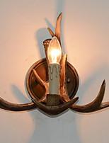 Недорогие -Творчество Деревенский Настенные светильники В помещении Смола настенный светильник 220-240Вольт 5 W