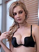 Недорогие -Женский Сексуальные платья Пуш-ап Бюстгальтер Деми - Однотонный