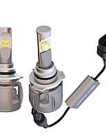 Недорогие -OTOLAMPARA 2pcs 9005 Автомобиль Лампы 120 W Высокомощный LED 15600 lm 2 Светодиодная лампа Налобный фонарь Назначение Toyota / Kia / Jeep Compass / RAV4 / A8 Все года