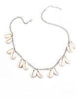 Недорогие -Жен. европейский / Мода ожерелья Однотонный
