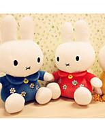 Недорогие -Rabbit Мягкие и плюшевые игрушки Животные Очаровательный Нетканые Хлопок Все Игрушки Подарок 1 pcs