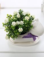 Недорогие -Искусственные Цветы 0 Филиал Классический Стиль Modern Вечные цветы Ваза Букеты на стол