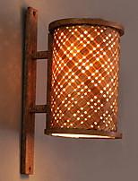 Недорогие -Творчество Традиционный / классический Настенные светильники В помещении Дерево / бамбук настенный светильник 220-240Вольт 15 W