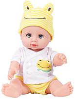 Недорогие -KIDDING Куклы реборн Мальчики Девочки 24 дюймовый Полный силикон для тела Силикон Винил - как живой Ручная Pабота Дети / подростки Милый Детские Универсальные Игрушки Подарок