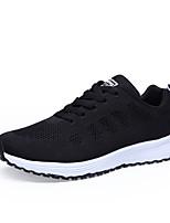 Недорогие -Муж. Комфортная обувь Сетка Весна Спортивные / На каждый день Кеды Амортизирующий Серый / Светло-серый / Синий
