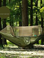 Недорогие -TANXIANZHE® Туристический гамак с москитной сеткой На открытом воздухе Легкость Быстровысыхающий Воздухопроницаемость Нейлон Сетчатый материал для 1 человек Рыбалка Походы -