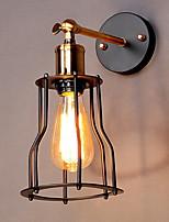 Недорогие -Творчество Ретро Настенные светильники Столовая Металл настенный светильник 220-240Вольт 40 W