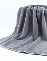 Недорогие -Высшее качество Банное полотенце, Однотонный Полиэстер / Хлопок Ванная комната 1 pcs
