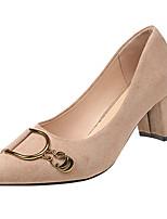 Недорогие -Жен. Полиуретан Весна На каждый день Обувь на каблуках На толстом каблуке Черный / Бежевый