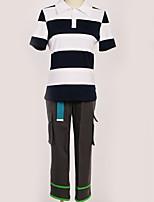 Недорогие -Вдохновлен Косплей Косплей Аниме Косплэй костюмы Косплей Костюмы Современный стиль Кофты / Брюки / Футболка Назначение Муж. / Жен.