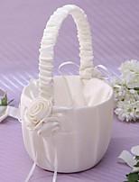 Недорогие -Цветочные корзины Прочее 22 см Цветы из сатина 1 pcs