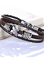 Недорогие -Жен. металлический / Мода браслет Однотонный