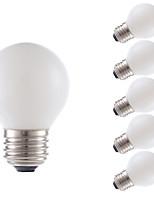 Недорогие -6 шт. Gmy g16.5 светодиодный свет лампы 3.5 Вт светодиодные лампы накаливания эквивалент 28 Вт с цоколем e26 2700 К белая люстра декоративная