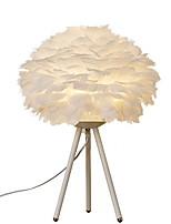 Недорогие -Простой Декоративная Настольная лампа Назначение Кабинет / Офис / Девочки Металл 220 Вольт